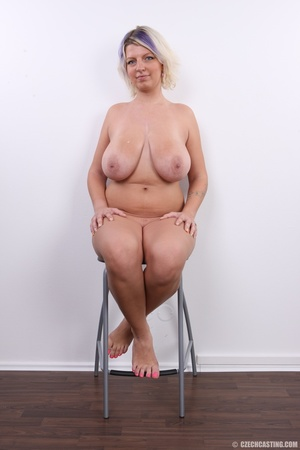Dyed hair blonde with super huge and swe - XXX Dessert - Picture 26