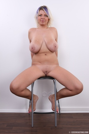 Dyed hair blonde with super huge and swe - XXX Dessert - Picture 27
