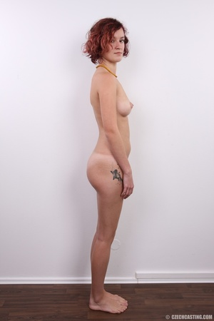 Young and beautiful redhead with sexy sm - XXX Dessert - Picture 15