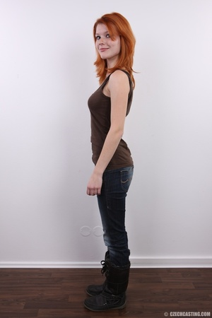 Sweet looking redhead with pleasant body - XXX Dessert - Picture 4