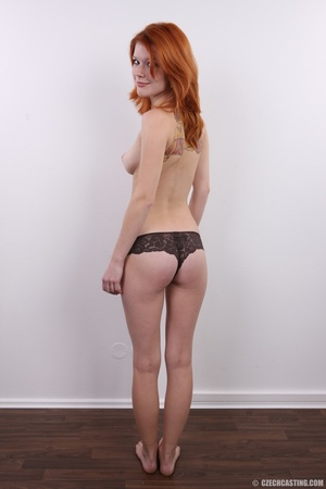 Sweet looking redhead with pleasant body - XXX Dessert - Picture 13