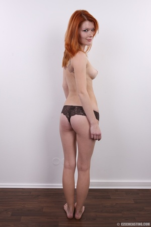Sweet looking redhead with pleasant body - XXX Dessert - Picture 14