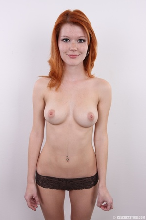 Sweet looking redhead with pleasant body - XXX Dessert - Picture 15