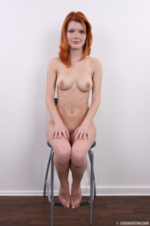 Sweet looking redhead with pleasant body - XXX Dessert - Picture 23