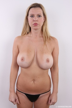 Slim blonde with incredible big boobs sh - XXX Dessert - Picture 15