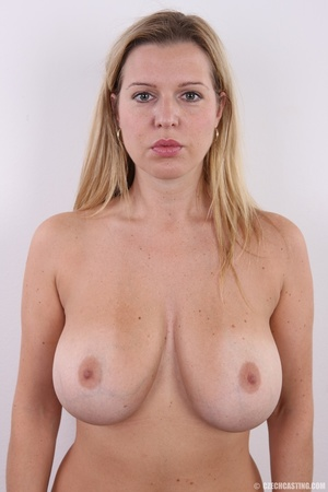 Slim blonde with incredible big boobs sh - XXX Dessert - Picture 16