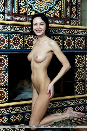 Stunning beauty with erotic hairy pussy, - XXX Dessert - Picture 6
