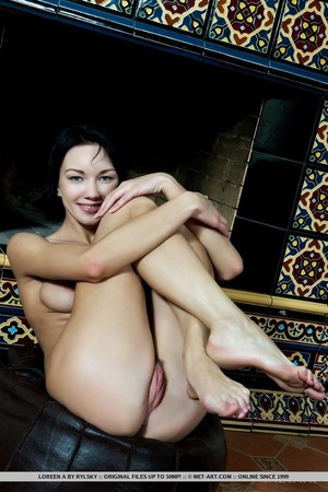 Stunning beauty with erotic hairy pussy, - XXX Dessert - Picture 9