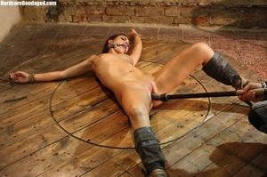 Horny gag wearing cuffed sweaty slave wi - XXX Dessert - Picture 7