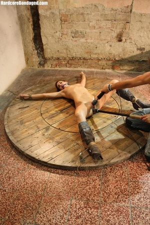 Horny gag wearing cuffed sweaty slave wi - XXX Dessert - Picture 10