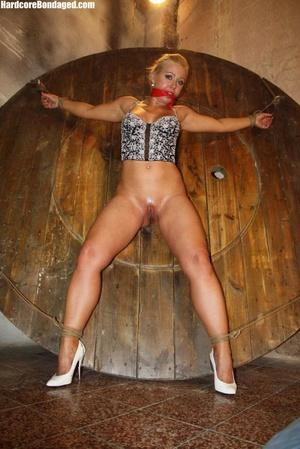 Sexy corset wearing blonde sex-slave get - XXX Dessert - Picture 7