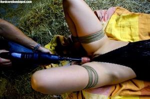 Hot gag wearing bondaged sex-slave getti - XXX Dessert - Picture 7