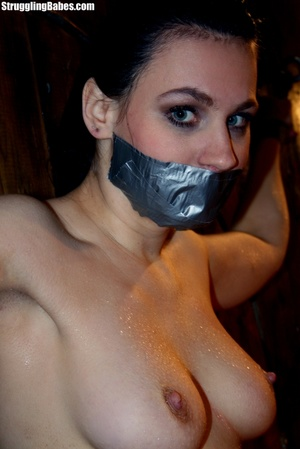Brunette whore gets tied and used rough - XXX Dessert - Picture 3