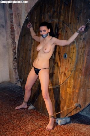 Brunette whore gets tied and used rough - XXX Dessert - Picture 4
