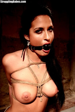 Nasty brunette loves her tits getting us - XXX Dessert - Picture 3
