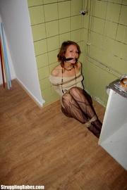 slutty girlfriend cleave gagged