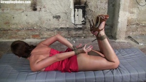 Hogtied whore tries to scream through he - XXX Dessert - Picture 9
