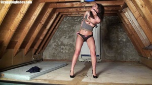 Useless whore gets tied standing and lef - XXX Dessert - Picture 20