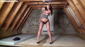 Useless whore gets tied standing and lef - XXX Dessert - Picture 21