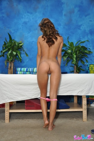 Hot young asian girl gets oiled up and f - XXX Dessert - Picture 5