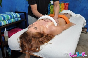 Amazing redhead gets her pink hole split - XXX Dessert - Picture 8