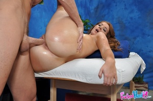 Amazing redhead gets her pink hole split - XXX Dessert - Picture 12