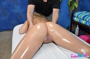 Blonde slut shows off her tattoos and we - XXX Dessert - Picture 7