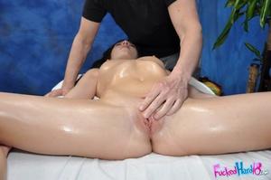 Stunning brunette adores his firm pussy  - XXX Dessert - Picture 9