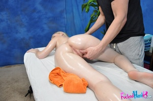 Marble skin beauty relaxes before being  - XXX Dessert - Picture 7
