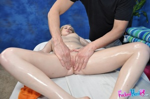 Marble skin beauty relaxes before being  - XXX Dessert - Picture 9