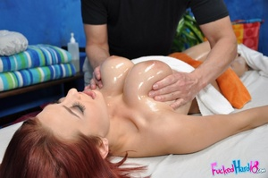 Kinky redhead wants her big tits massage - XXX Dessert - Picture 8