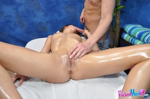 Shy hottie gets convinced by expert hand - XXX Dessert - Picture 10
