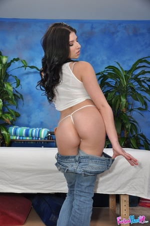 Sexy brunette loses inhibitions and fuck - XXX Dessert - Picture 2