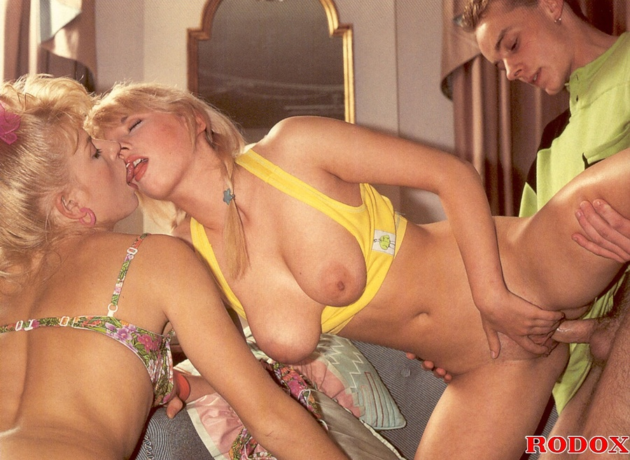 Two Men One Girl Blowjob