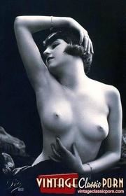 very cute topless vintage