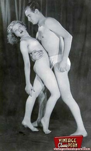 Pretty vintage naked professional models - XXX Dessert - Picture 11