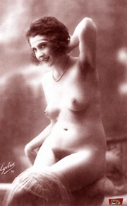 vintage models showing their