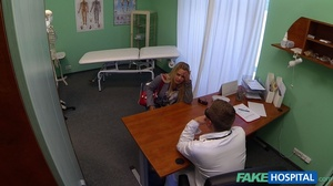 Naive blondie gets her pussy and ass fin - XXX Dessert - Picture 1