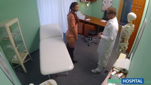 Lustful doctor in glasses stretches his  - XXX Dessert - Picture 4