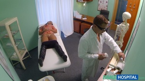 Lustful doctor in glasses stretches his  - XXX Dessert - Picture 5