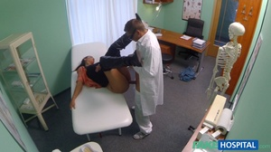 Lustful doctor in glasses stretches his  - XXX Dessert - Picture 11