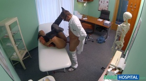 Lustful doctor in glasses stretches his  - XXX Dessert - Picture 15