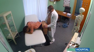 Lustful doctor in glasses stretches his  - XXX Dessert - Picture 16