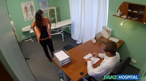Lustful doctor in glasses stretches his  - XXX Dessert - Picture 20