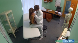 Horny doctor adores licking his cute pat - XXX Dessert - Picture 9