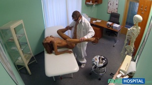 Horny doctor adores licking his cute pat - XXX Dessert - Picture 14