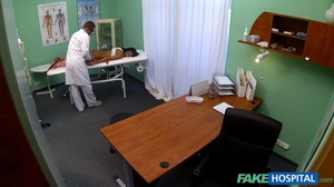 Brunette chick gives head to a doctor be - XXX Dessert - Picture 5