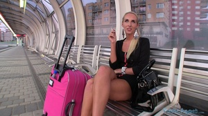 Magnificent blonde babe swallowing dick  - XXX Dessert - Picture 2