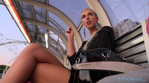 Magnificent blonde babe swallowing dick  - XXX Dessert - Picture 3