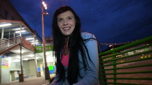Tangy black haired teen with gorgeous bo - XXX Dessert - Picture 15